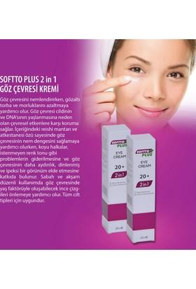 Softto Plus 2İn1 Göz Çevresi Bakım Kremi
