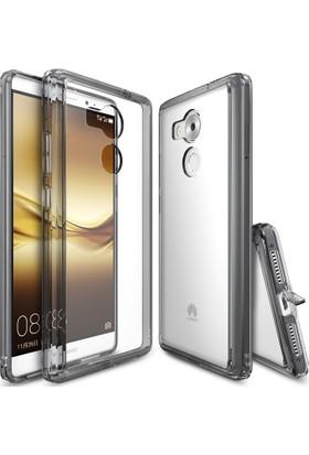 Ringke Fusion Huawei Mate 8 Kılıf Smoke Black - Extra Darbe Emici