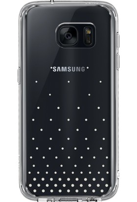 Ringke Noble Fusion Galaxy S7 Taşlı Kılıf Extra Darbe Emici - Wedding Clear