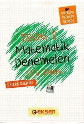 Eksen Yayıncılık Teog 2 Matematik Denemeleri 15'Li Paket