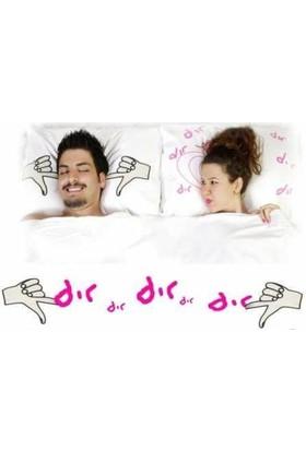 Pop Pillows Dır Dır Yastık Kılıfı / Esprili Baskılı Yastık Kılıfı