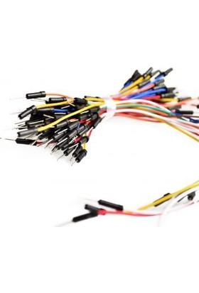 Güvenrob Flexible Breadboard 30pcs Jumper Wires