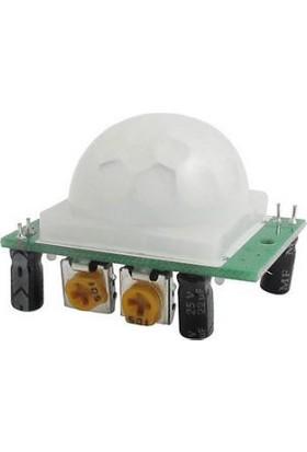 Güvenrob Arduino Hc-sr501 Ayarlanabilir Hareket Algılama Sensörü Yeşil