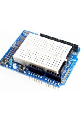 Güvenrob Arduino UNO R3 Proto Shield + Mini Breadboard