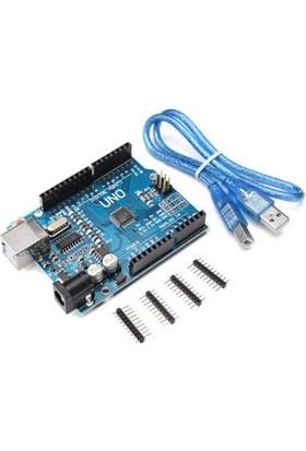 Güvenrob Arduino Uno R3 Ch340 Chip + Usb Kablo
