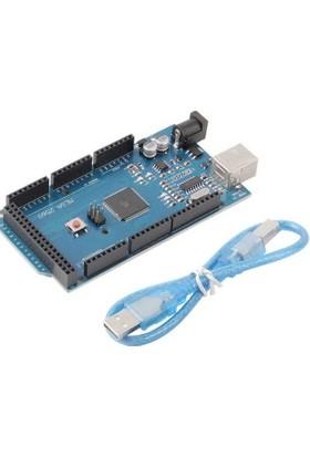 Güvenrob Arduino Mega 2560 R3 Ch340 + Usb Kablo
