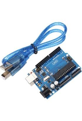 Güvenrob Arduino Uno R3 + Usb Kablo