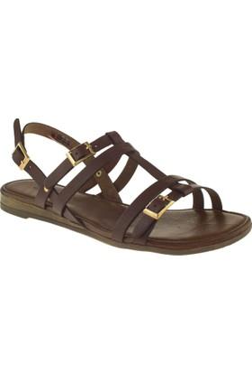 Greyder 55127 Zn Casual Kahverengi Kadın Sandalet