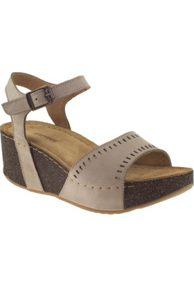 Greyder 51260 Zn Urban Casual Vizon Kadın Sandalet