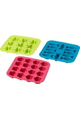 Ikea Plastis Buz Kalıbı