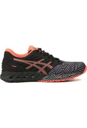 Asics Siyah - Turuncu Kadın Koşu Ayakkabısı T6K8N 9606