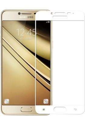 Akıllıphone Samsung Galaxy C7 Full Kaplama Ekran Koruyucu