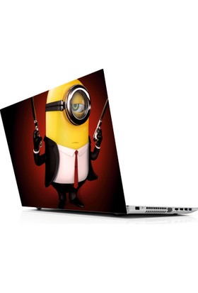 Sticker Masters Minion Hitman Laptop Sticker