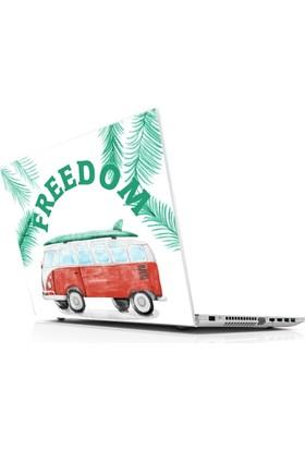 Sticker Masters Vintage Caravan Freedom Laptop Sticker