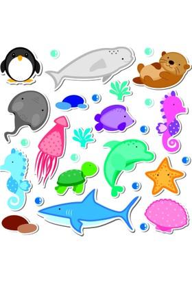 Sticker Masters Deniz Hayvanları Çocuk Odası Sticker