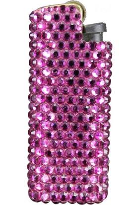 Zirkon Elements Taşlı Çakmak Kılıf Purple