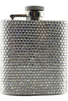 Zirkon Elements Taşlı Kaplı Matara Silver