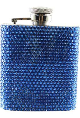 Zirkon Elements Taşlı Kaplı Matara Blue