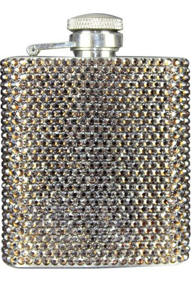 Zirkon Elements Taşlı Kaplı Matara Gold Brown