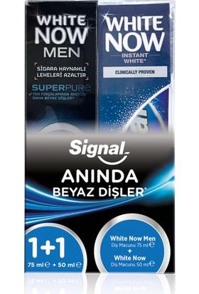 Signal White Now Men 75 Ml + White Now 50 Ml Diş Macunu