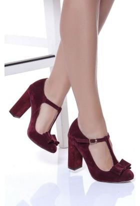 Shoes Time 17Y 3426 Kadın Süet Ayakkabı