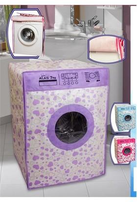 Dekohouse Lüks Çamaşır Makinesi Örtüsü