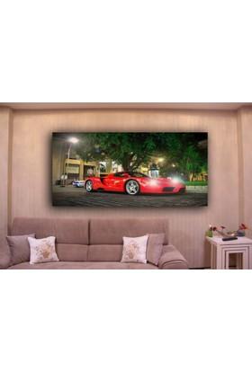 Rumeli Tablo Ferrari Enzo Led Işıklı Kanvas Tablo