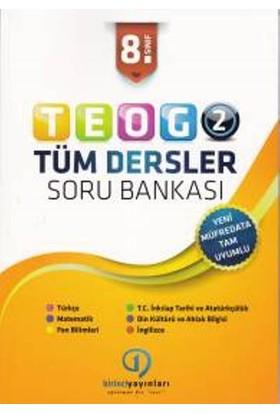 Birinci Yayınları Teog 2 Tüm Dersler Soru Bankası