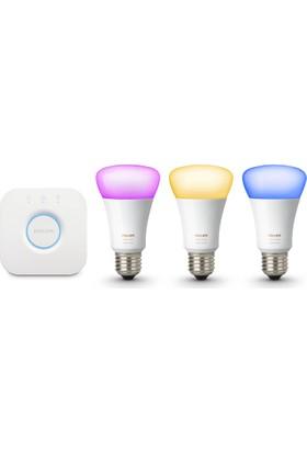 Philips Hue V3 Akıllı LED 3'lü Başlangıç Seti E27
