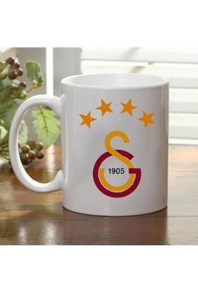 Adell Digital Galatasaray Beyaz Kupa Bardak Baskı