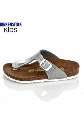 Birkenstock Kız Çocuk Terlik Gümüş 847693