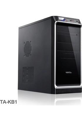 Asus 600W Vento Takb1 Mid Tower Pc Kasası Parlak Siyah