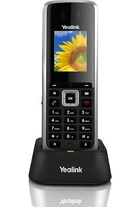 Yealink W52H Dect Cordless Handset 1.8 Inc Tft Color, Address Book 100 Entrıes, Keypad Lock,6 Prog Keys Ip Telefon