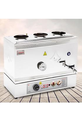 Mizan 60 Model Çay Kazanı Pleytsiz Elektrikli Kahveci