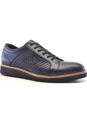 Tardelli® Hakiki Deri Günlük Lacivert Büyük Numara Erkek Ayakkabı