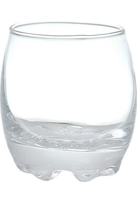 Loveq 6Lı Dekor Cam Likör Bardağı