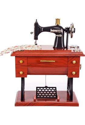 Loveq Dekoratif Dikiş Makinesi Müzikli 17X9,5X20 Cm Drn-55524