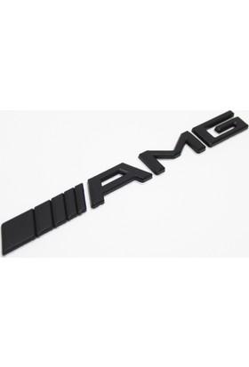 VenessAuto Mercedes Black AMG Bagaj Yazısı AMG Logosu AMG Amblem Siyah