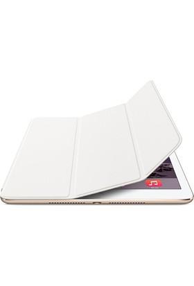 Kea Apple iPad Air 2 ( iPad 6) Smart Case Beyaz Kılıf + Ekran Koruyucu Film + Tablet Kalemi