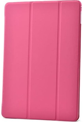 Kea Apple iPad Air 2 ( iPad 6) Smart Case Pembe Kılıf + Ekran Koruyucu Film + Tablet Kalemi