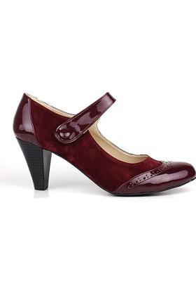 Loggalin 375400 031 625 Kadın Bordo Günlük Ayakkabı