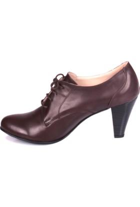 Loggalin 375118 031 232 Kadın Kahverengi Günlük Ayakkabı