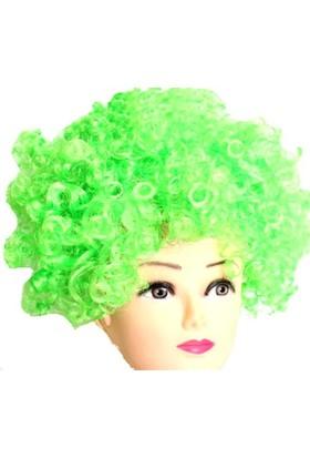 Partypark Peruk Bonus Saç Yeşil
