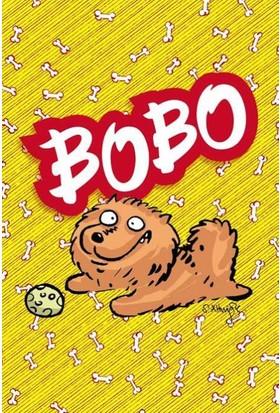 """Penguen: Serkan Altuniğne Tasarımlı """"Bobo"""" Defter Küçük Boy (Çizgisiz)"""