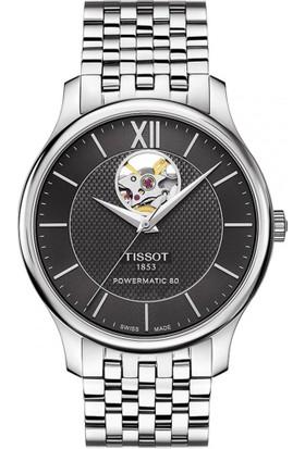 Tissot T063.907.11.058.00 Tradition Powermatic 80 Open Heart Erkek Kol Saati
