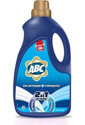 Abc Sıvı Deterjan + Yumuşatıcı Dağ Ferahlığı 2228Ml