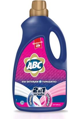 Abc Sıvı Deterjan + Yumuşatıcı Gül Tutkusu 2228Ml