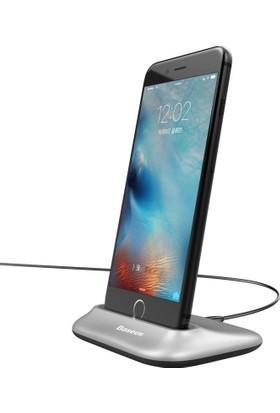 Baseus Apple iPhone 6 6S 6S Plus 7 7S 7S Plus Dock Masaüstü Şarj İstasyonu ve Şarj Kablosu