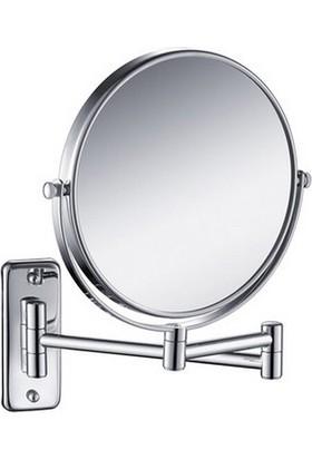 Bauboss Mafsallı Makyaj Ve Tıraş Aynası (Dikdörtgen Taban)