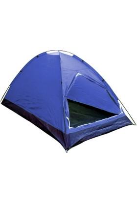 GadaHome Koyu Mavi Dome Çadır (240*210*140 Cm)